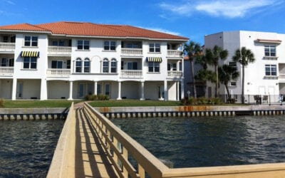 EXCLUSIVE COLLECTION OF TOWNHOMES  ON THE WATER IN FLORIDA