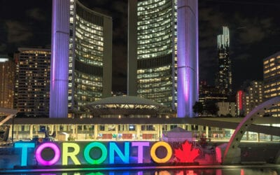 TORONTO IS NOW NORTH AMERICA'S FASTEST-GROWING CITY